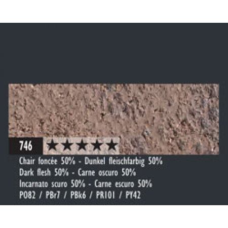 Caran dAche Pastel Pencils - 746 dark flesh 50%